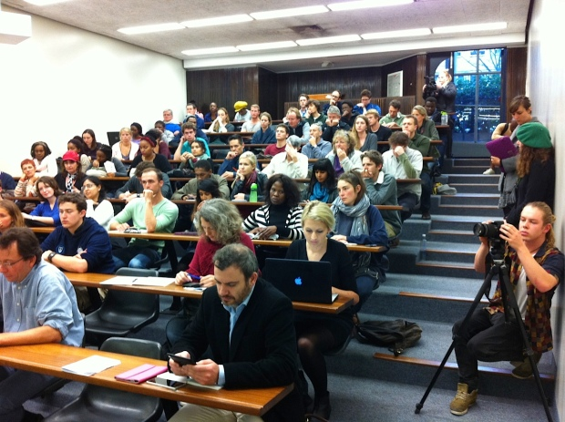 Launch of UCT Fossil Free 30 July 2014