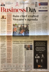 Front page...