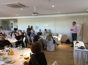 Facilitator Malcolm Gray at our Cape Town event